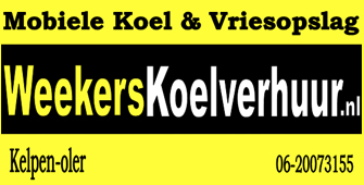 Weekers koelverhuur